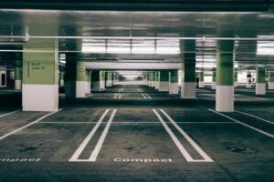 estacionamento do evento
